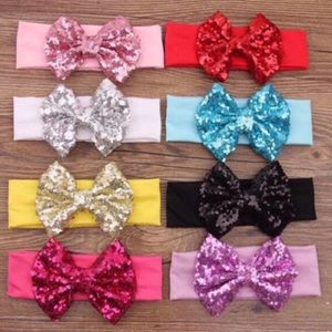 "Other - 5"" Sequin Bow Headband"